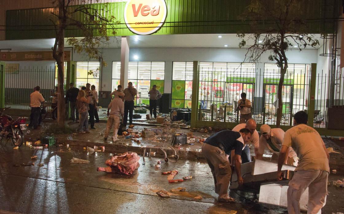 Zamieszki w Argentynie