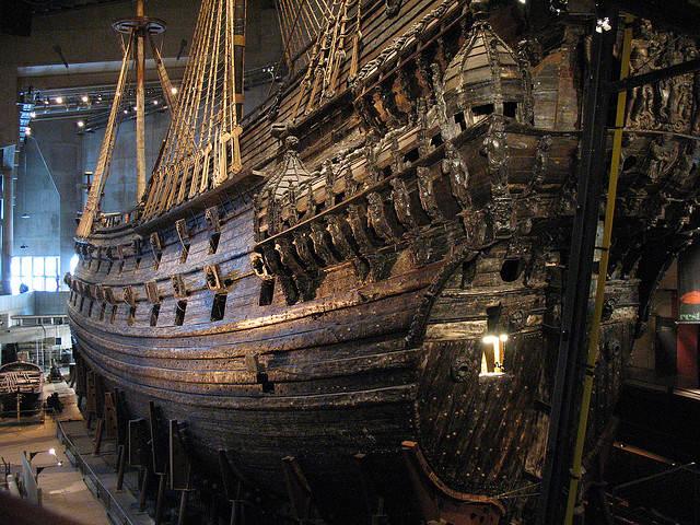 Sztokholm Muzeum Okrętu Vaza