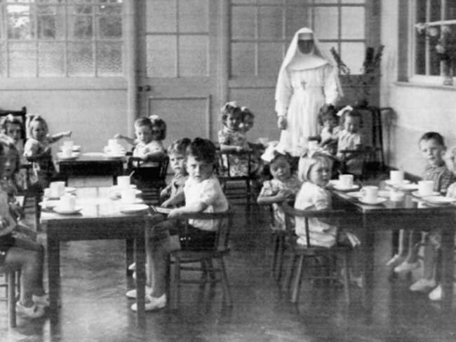 Masowy grób dzieci na ziemiach zakonu