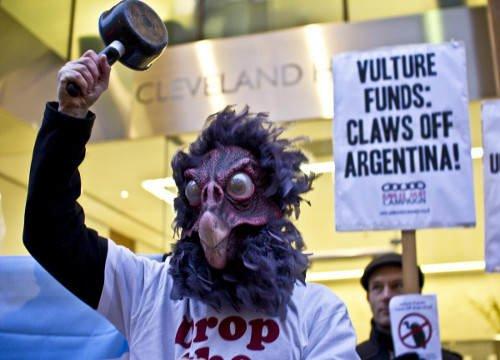 Czarne chmury nad Argentyną czyli sępie fundusze wygrywają