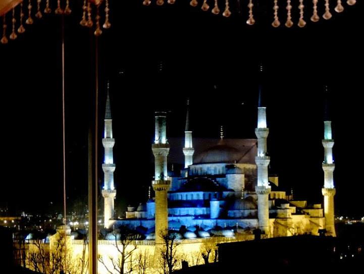 Ten pierwszy raz w Stambule