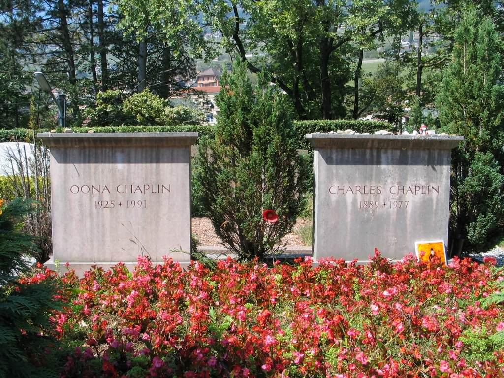 Znani pochowani w Szwajcarii.