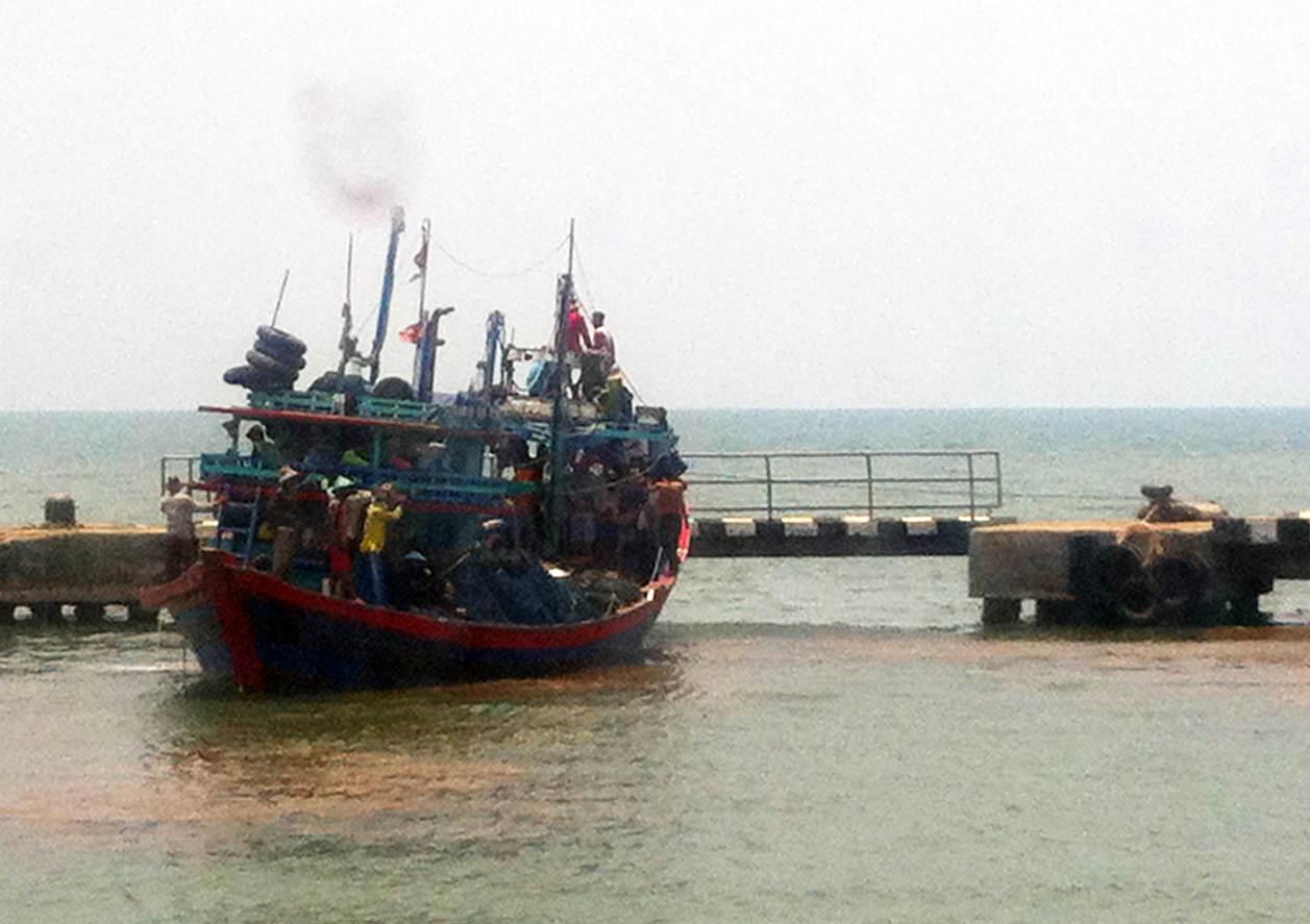 Indonezja na morzu