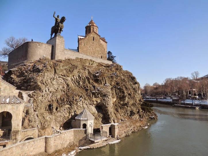 Tbilisi : najciekawsze pomniki gruzińskiej stolicy