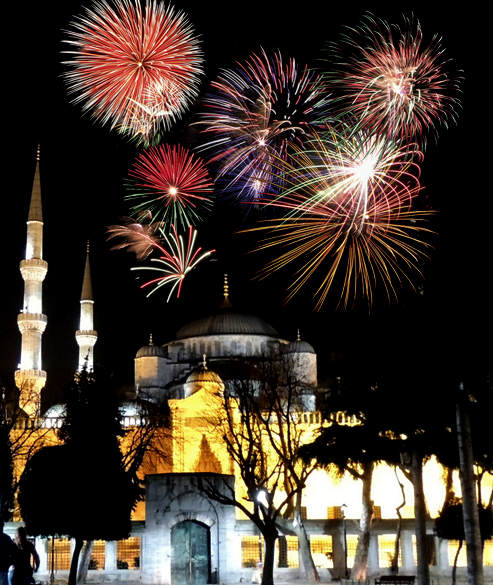 Święta i Nowy Rok w Turcji