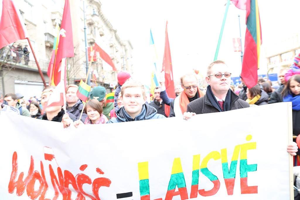 Polacy po raz pierwszy na litewskim Marszu Niepodległości