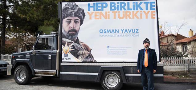 Wspaniałe Wybory, czyli turecka kampania parlamentarna w stylu sułtana Sulejmana