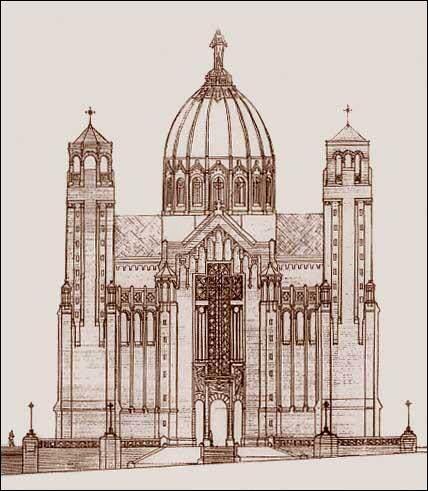 Niezrealizowane Sacré-Cœur w Wilnie