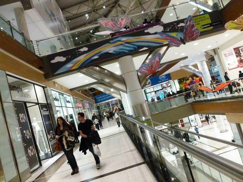 Dlaczego Grecy nie spędzają swojego czasu wolnego w galeriach handlowych?