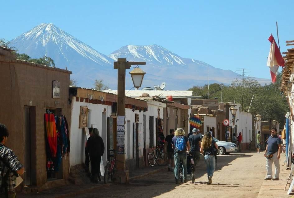 Oaza na pustyni Atacama
