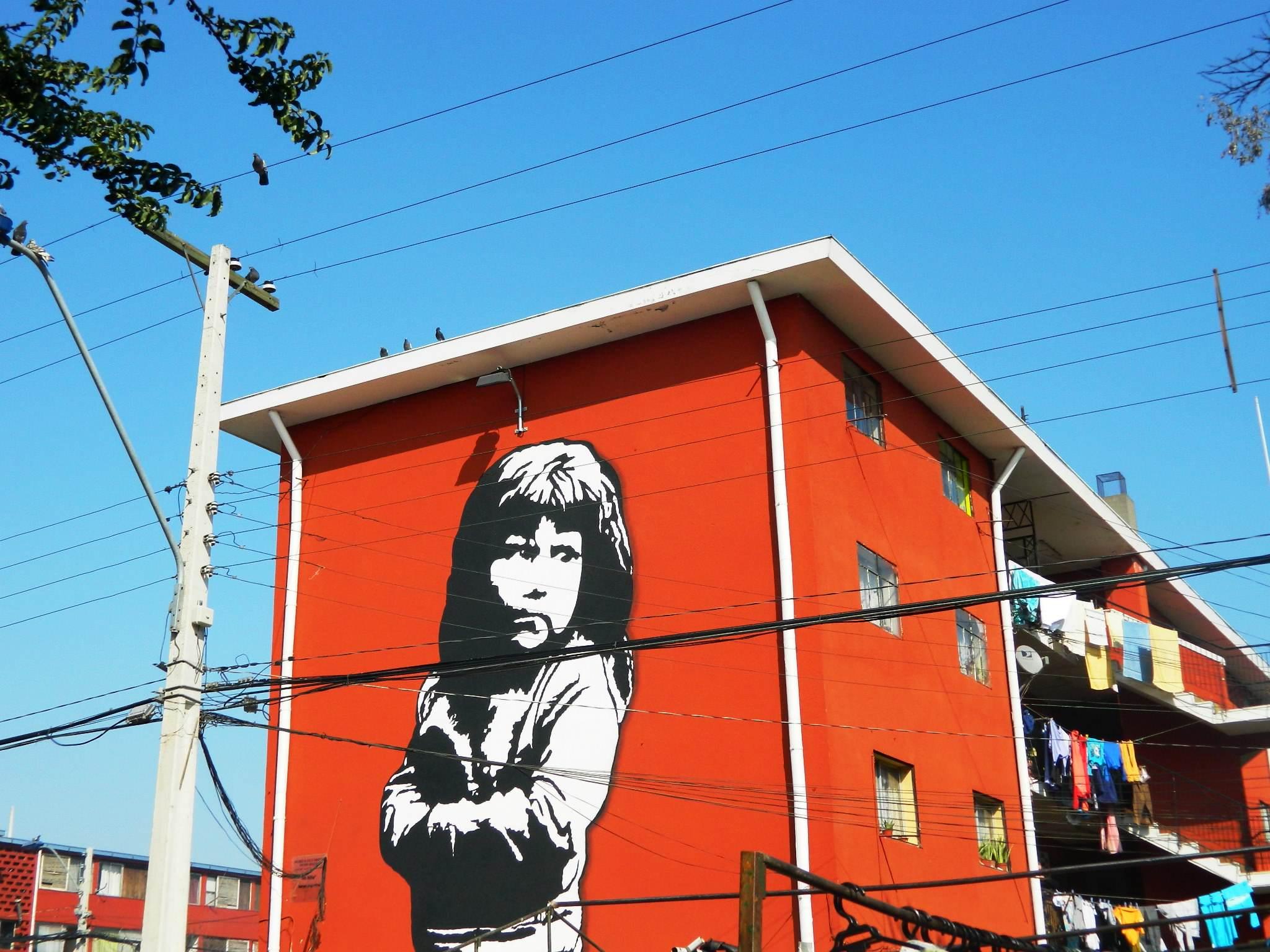 Muzeum murali w Santiago