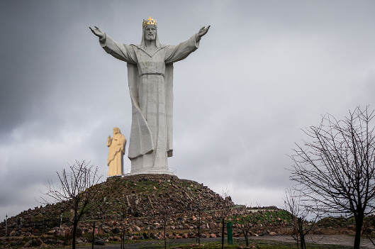 Jezus z Tarcalu (8.5m)