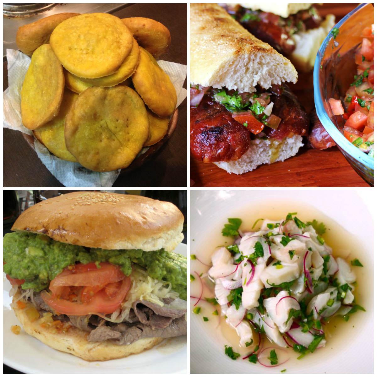 Sopaipillas | Choripan | Churrasco | Ceviche