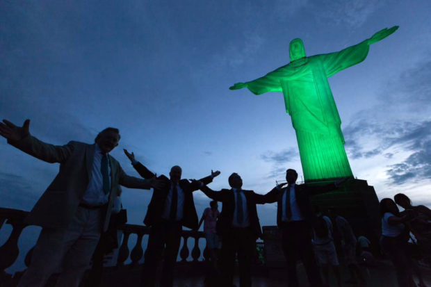 Global Greening Christ the Redeemer