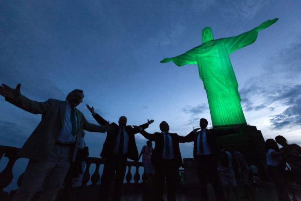 Global Greening Christ the Redeemer