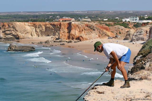 Klifowi wędkarze z Algarve…