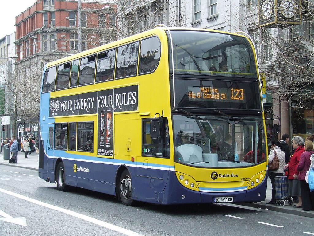 Przewodnik po dublińskich autobusach