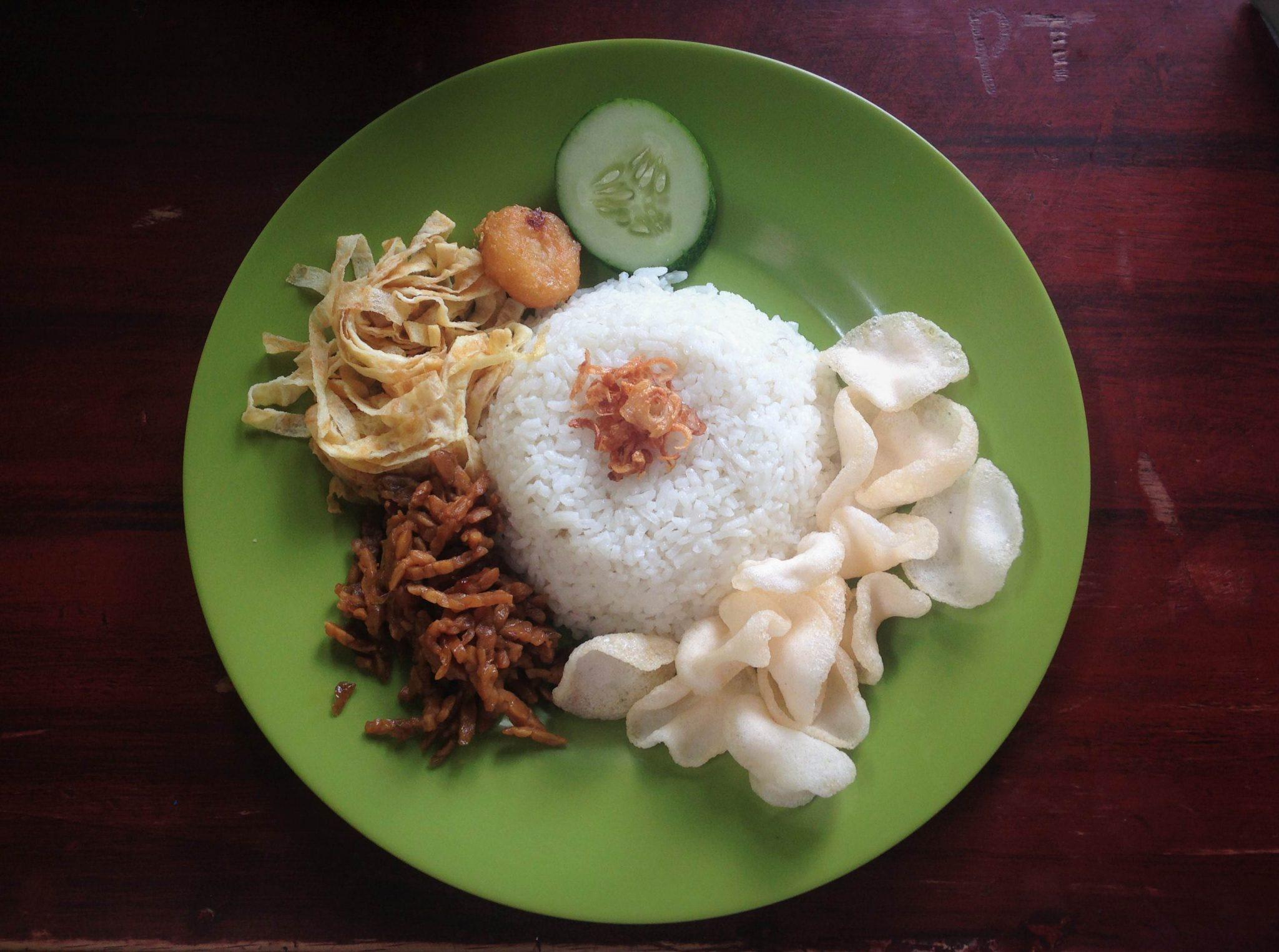 Śniadanie po indonezyjsku