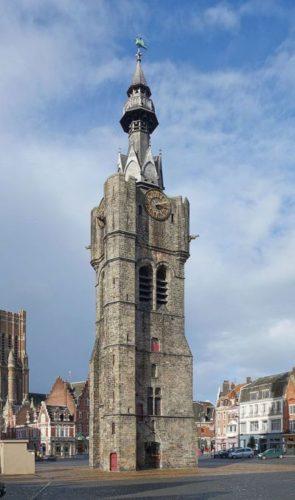 beffroi wieża strażnicza
