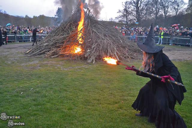 Pochód czarownic, czyli Walpurgia w Göteborgu