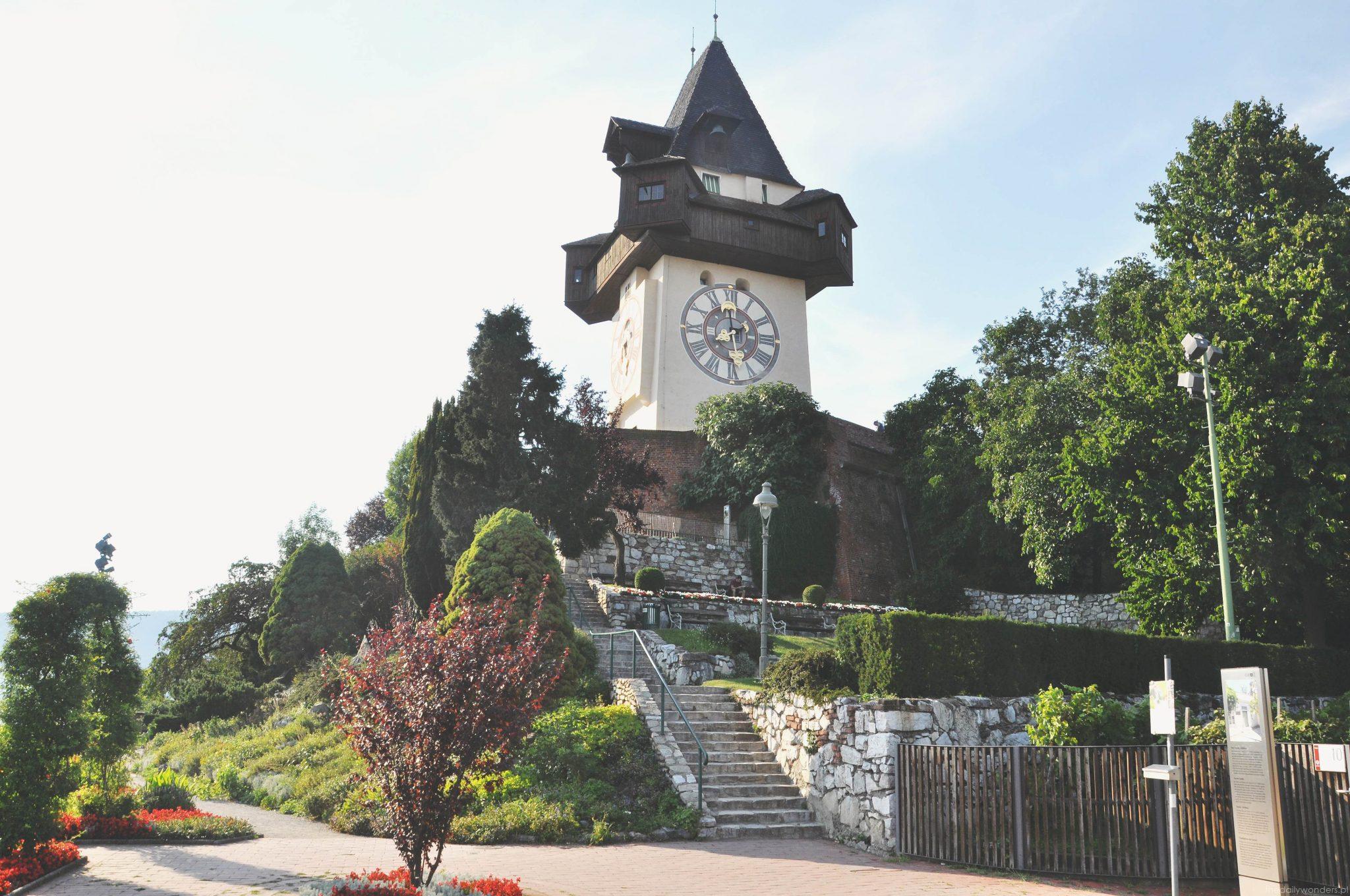 Wieża Zegarowa w Graz