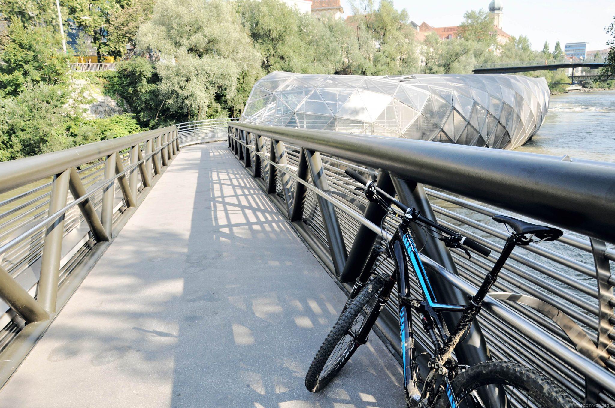 Graz Murinsel rowery