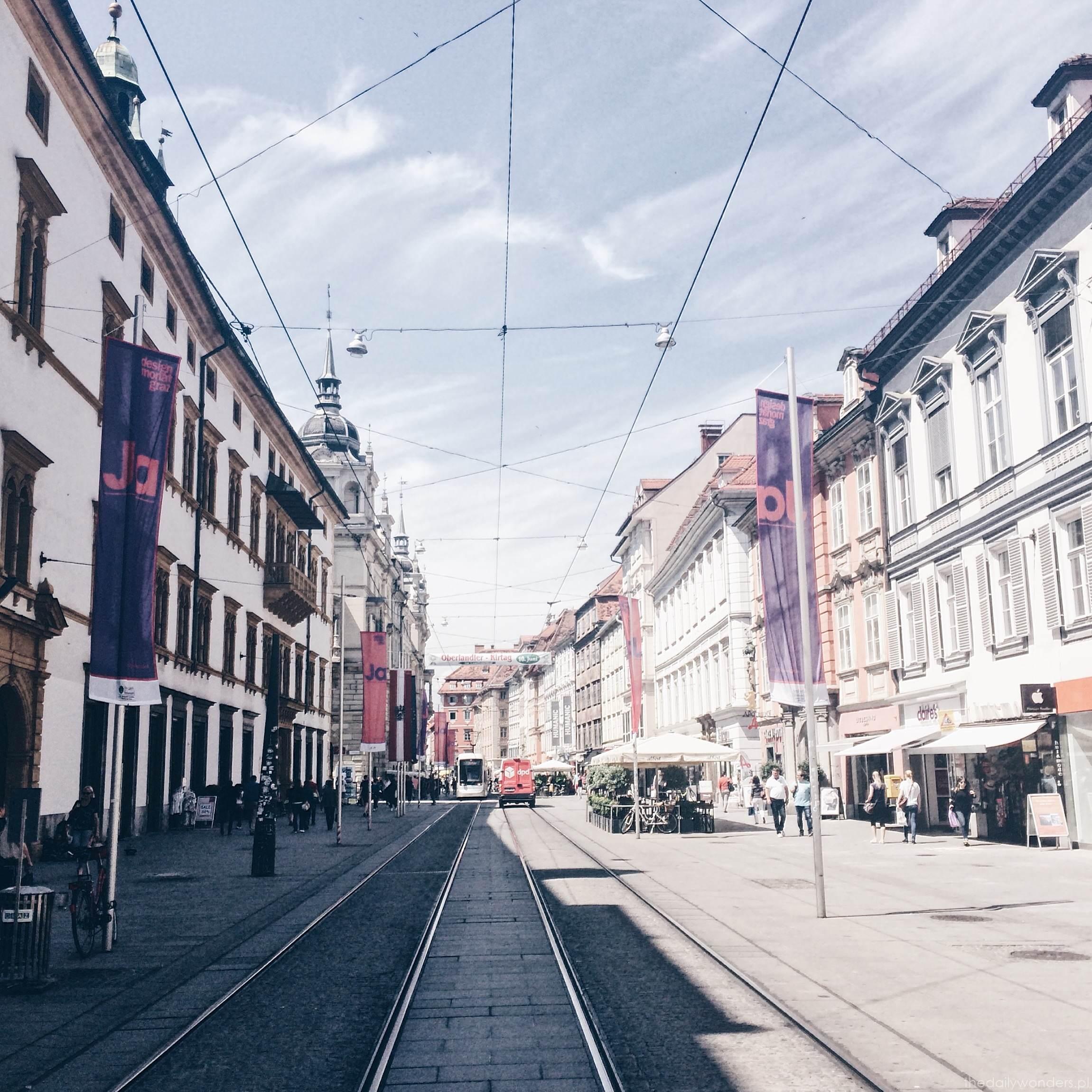 Graz Herrengasse główna ulica