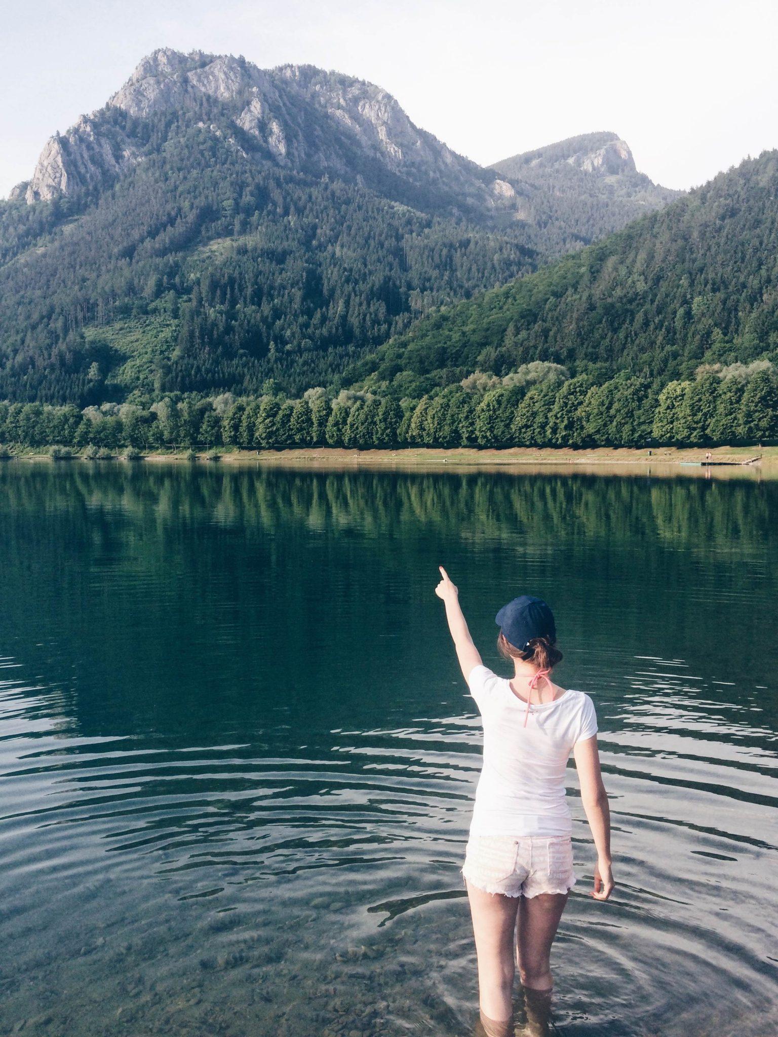 Jezioro Tiebersee w Austrii