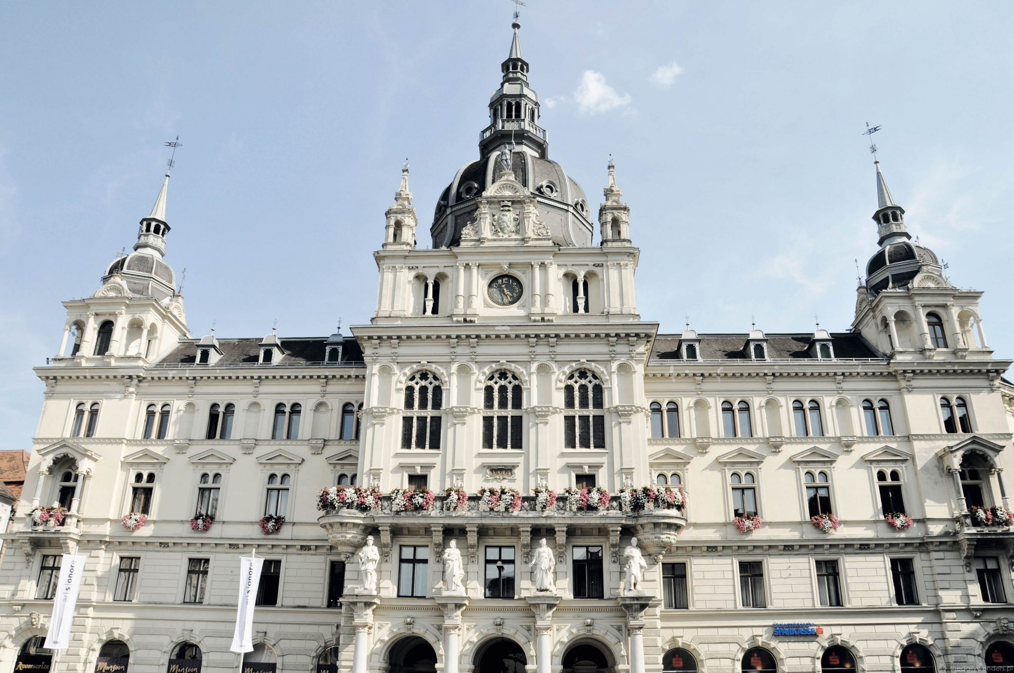Graz centrum miasta budynek