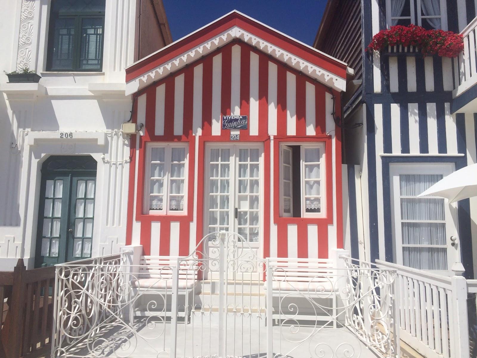 portugalia blog podróżniczy aveiro domki w paski