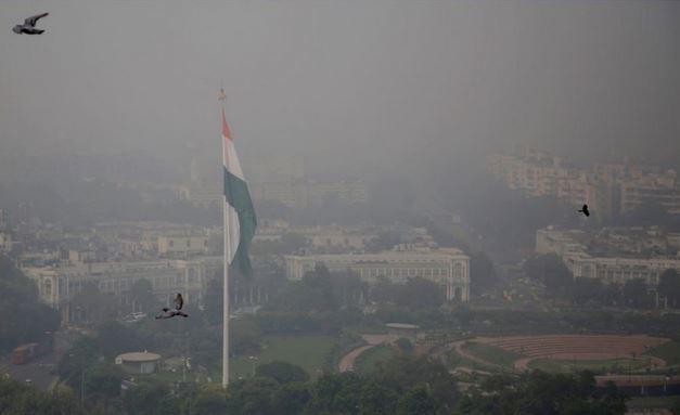 Delhi, gigantyczny smog w Indiach