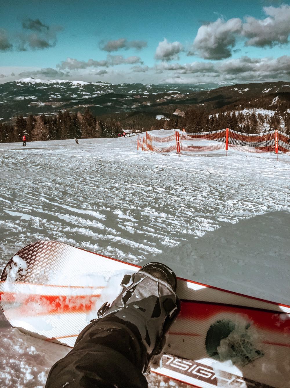 Snowboard w Austrii