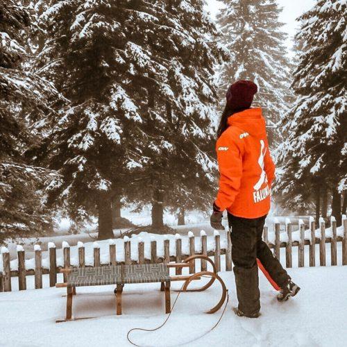 Snowboard w Austrii - region Karyntii