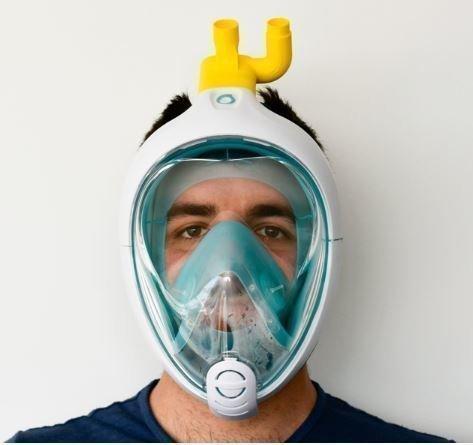 Przerobiona Maska Do Nurkowania